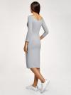 Платье с вырезом-лодочкой (комплект из 2 штук) oodji #SECTION_NAME# (разноцветный), 14017001T2/47420/19J1N - вид 3