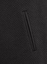 Платье трикотажное с рукавом 3/4 oodji #SECTION_NAME# (черный), 24001100-2/42408/2900N - вид 5