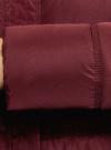 Куртка удлиненная с искусственным мехом на воротнике oodji для женщины (красный), 10203059-1/32754/4905N - вид 5