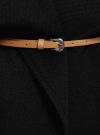 Жилет из плотной ткани с карманами oodji #SECTION_NAME# (черный), 12304002/45749/2900N - вид 5