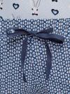 Пижама хлопковая принтованная oodji #SECTION_NAME# (синий), 56002220-7/44135N/7079Q - вид 5