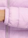 Куртка-бомбер на молнии oodji #SECTION_NAME# (фиолетовый), 10203061-1B/33445/8001N - вид 5