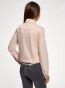 Куртка джинсовая oodji #SECTION_NAME# (розовый), 11109037/49348/4B4BE - вид 3