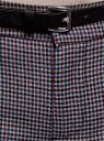 Брюки базовые с ремнем oodji #SECTION_NAME# (серый), 11701029-2B/22124/2349C - вид 4