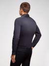 Рубашка базовая приталенная oodji для мужчины (синий), 3B140000M/34146N/7901N - вид 3