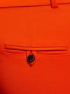 Брюки укороченные с ремнем oodji #SECTION_NAME# (красный), 21701094/33574/4500N - вид 5