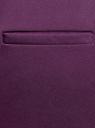 Брюки базовые со стрелками oodji для женщины (фиолетовый), 21701090B/42250/8803N