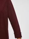 Кардиган вязаный с ажурной спинкой oodji для женщины (красный), 73212324-3/48117/4900M