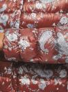 Куртка стеганая с круглым вырезом oodji для женщины (красный), 10204040-1B/42257/4920E - вид 5