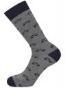 Комплект из шести пар носков oodji для мужчины (черный), 7O263003T6/47469/2979J
