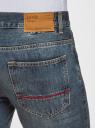 Джинсы базовые oodji для мужчины (синий), 6B130025M/35771/7402W