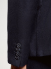 Пиджак базовый приталенный oodji #SECTION_NAME# (синий), 2B420026M/48330N/7900O - вид 5