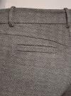 Брюки трикотажные облегающего силуэта oodji для женщины (коричневый), 18601009/48596/3930J - вид 5