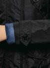 Парка удлиненная с отделкой из искусственного меха oodji для женщины (черный), 21D03001/45795/2900N - вид 5