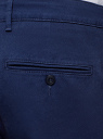 Брюки базовые из хлопка oodji для мужчины (синий), 2B150151M/39622N/7900N