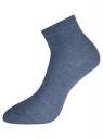 Комплект из трех пар укороченных носков oodji #SECTION_NAME# (разноцветный), 57102418T3/47469/56 - вид 3