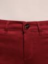 Шорты джинсовые стретч с отворотами oodji #SECTION_NAME# (красный), 12807082B/45491/4500N - вид 4