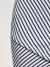 Юбка трикотажная с асимметричным низом oodji #SECTION_NAME# (белый), 14101081B/45500/1279S - вид 5