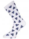 Комплект высоких носков (6 пар) oodji для женщины (разноцветный), 57102902T6/47469/38 - вид 5