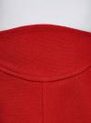 Юбка-трапеция короткая oodji #SECTION_NAME# (красный), 11600414-1/42054/4500N - вид 4
