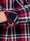 Платье-рубашка из хлопка oodji для женщины (синий), 11911004/45252/7945C - вид 5