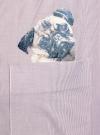 Рубашка oversize с вышивкой oodji #SECTION_NAME# (розовый), 13K11004-1/45387/4A10S - вид 5