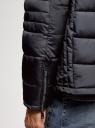 Куртка стеганая с воротником-стойкой oodji #SECTION_NAME# (синий), 1B111005M/48961N/7900N - вид 5