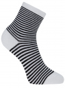 Носки базовые хлопковые oodji #SECTION_NAME# (белый), 57102466B/47469/1029S