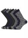 Комплект из шести пар носков oodji #SECTION_NAME# (черный), 7O263003T6/47469/2979J - вид 2