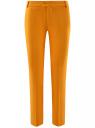 Брюки льняные прямые oodji #SECTION_NAME# (оранжевый), 21701092/16009/5500N