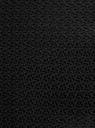 Юбка прямая с декоративными молниями oodji #SECTION_NAME# (черный), 21605067-3/45367/2900N - вид 5