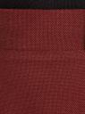 Юбка прямая на молнии oodji #SECTION_NAME# (красный), 21602089/46742/4900N - вид 4