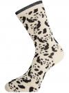 Комплект носков из 3 пар oodji #SECTION_NAME# (разноцветный), 57102905T3/47469/3 - вид 3