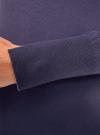 Платье вязаное базовое oodji для женщины (синий), 73912217-2B/33506/7900N - вид 5