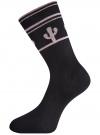 Комплект высоких носков (6 пар) oodji для женщины (разноцветный), 57102902T6/47469/31