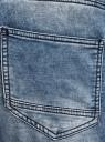 Шорты джинсовые с завязками oodji #SECTION_NAME# (синий), 6L200012M/48472/7500W - вид 5