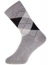 Комплект высоких носков (3 пары) oodji для мужчины (разноцветный), 7B233001T3/47469/1904G
