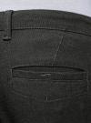 Брюки-чиносы из хлопка oodji #SECTION_NAME# (серый), 2L150163M/48556N/2529O - вид 5
