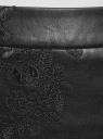 Юбка из искусственной кожи с декором oodji #SECTION_NAME# (черный), 18H01011/49091/2900N - вид 4