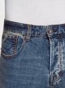 Джинсы slim базовые oodji для мужчины (синий), 6B120067M/46627/7510W