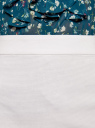 Юбка прямая с разрезом oodji для женщины (белый), 21601254-2/42824/1000N