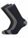 Комплект из трех пар носков oodji #SECTION_NAME# (синий), 7O233003T3/47469/7929N - вид 2