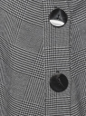 Юбка миди с асимметричным низом oodji #SECTION_NAME# (серый), 11600447-1/48496/2529C - вид 5