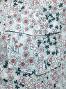 Рубашка из хлопка принтованная oodji #SECTION_NAME# (синий), 11402084-3/12836/7010F - вид 5