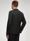 Пиджак базовый приталенный oodji #SECTION_NAME# (черный), 2B420026M/48330N/2900O - вид 3