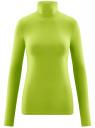 Водолазка хлопковая oodji #SECTION_NAME# (зеленый), 15E02001B/46147/6B00N