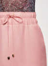 Юбка легкая с завязками oodji #SECTION_NAME# (розовый), 11600378-1/42630/4000N - вид 5
