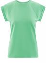 Футболка хлопковая базовая oodji для женщины (зеленый), 14707001-4B/46154/6500N