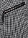 Брюки обтягивающие с декоративными молниями oodji #SECTION_NAME# (серый), 28600031-2/46979/1029O - вид 5