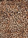 Брюки легкие из струящейся ткани oodji для женщины (бежевый), 21705061-4B/42526/3329A